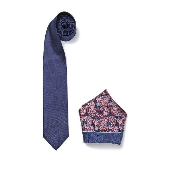 Zestaw krawata i poszetki Ferruccio Laconi 9