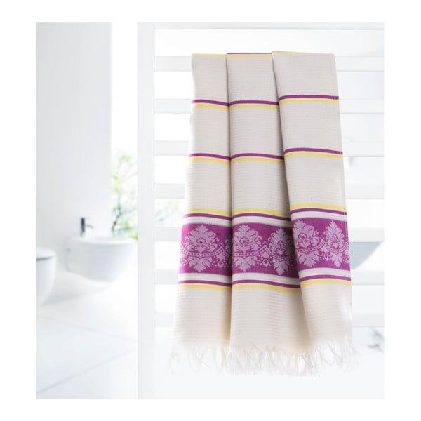 Ręcznik hammam Loincloth Pinky, 80x170 cm