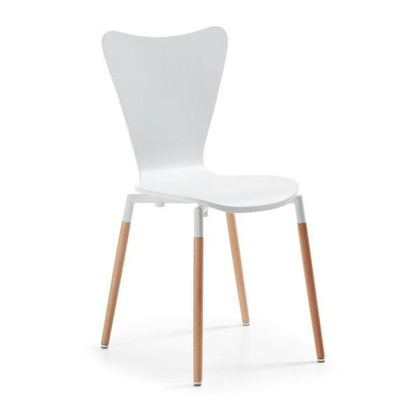Krzesło Eclectic, białe