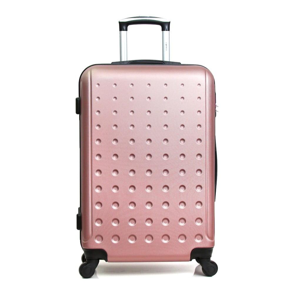 d16dad6004a7d Różowa walizka na kółkach Hero Taurus, 39 l | Bonami