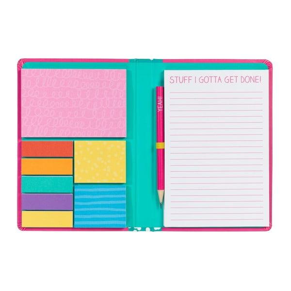 Notes i zestaw karteczek samoprzylepnych Happy Jackson Stuff Sticky