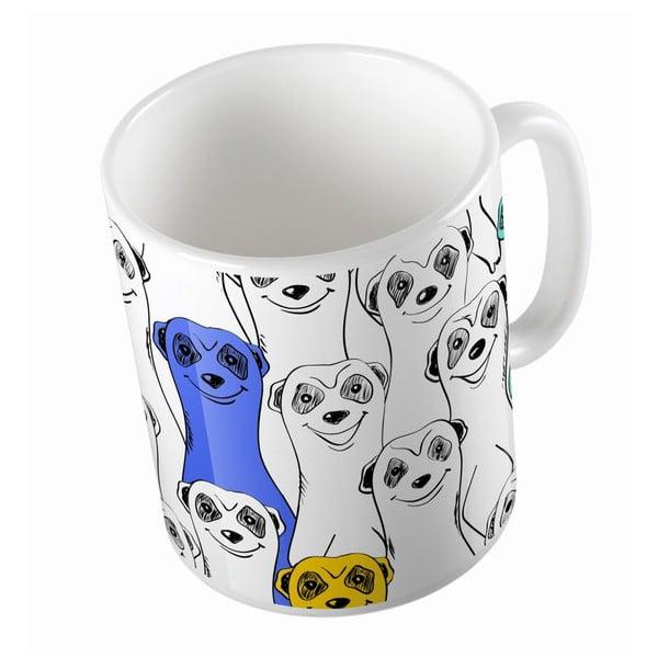 Ceramiczny kubek Group Of Meerkats, 330 ml