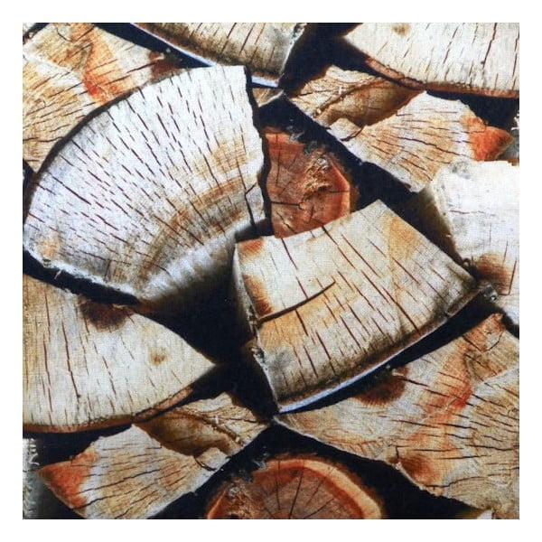Poduszka Wood Fireplace 50x50 cm