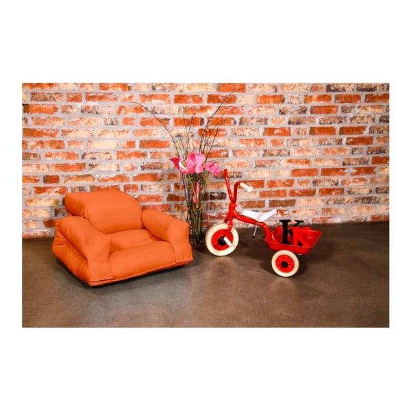 Fotel dziecięcy Karup Baby Hippo Orange