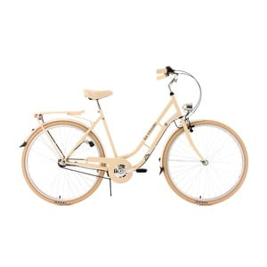 Damski rower City Bike Casino Beige Three Gang, 28""