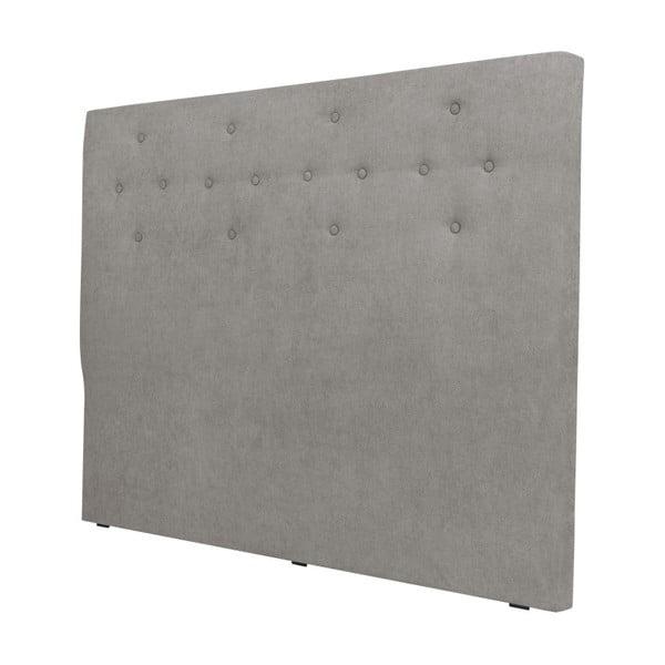 Jasnoszary zagłówek łóżka Windsor & Co Sofas Phobos, 200x120 cm