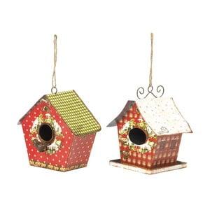 Zestaw 2 dekoracji wiszących Bird Houses