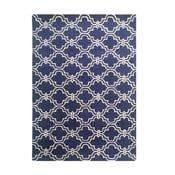 Granatowy dywan tuftowany ręcznie Bakero Miami, 120x180cm
