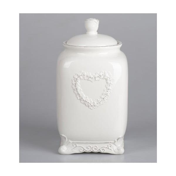 Ceramiczny pojemnik Cuore, 21 cm