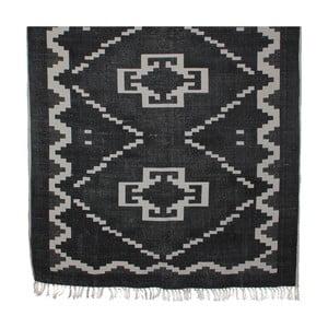 Czarny dywan Mica Wiki, 120x180cm