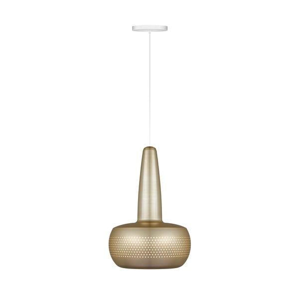 Matowa lampa w kolorze mosiądzu VITA Copenhagen Clava, Ø21,5cm