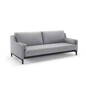 Szara sofa rozkładana Innovation Hermod