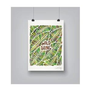 Plakat Americanflat Wild Thing, 30x42 cm