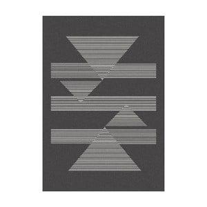 Ciemnoszary   dywan MOMA Norway,80x150cm