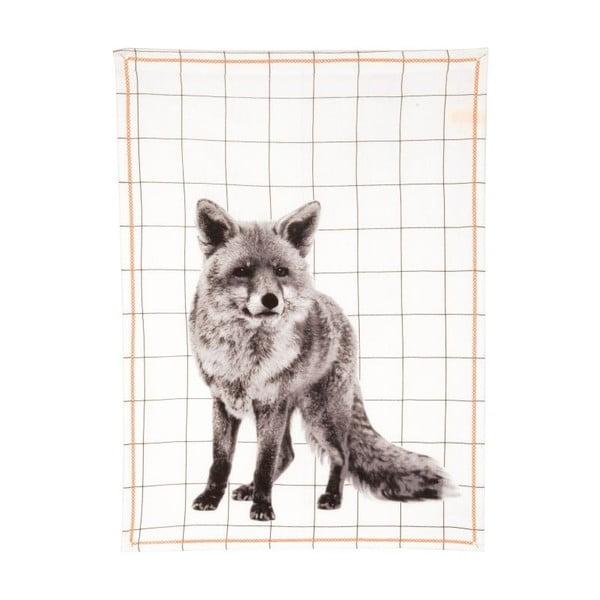 Ścierka kuchenna Grid Fox, 50x70 cm