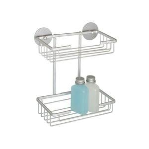 Samoprzyczepna półka dwupoziomowa Aluminium, do 40 kg