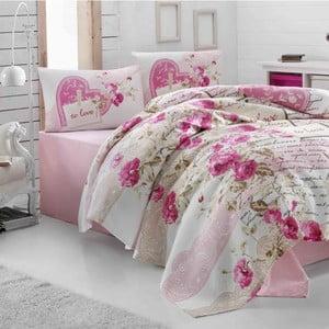 Komplet pościeli Nice Pink, 200x230 cm