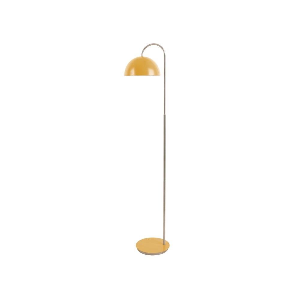 Lampa stojąca w żółtym matowym kolorze Leitmotiv Decova