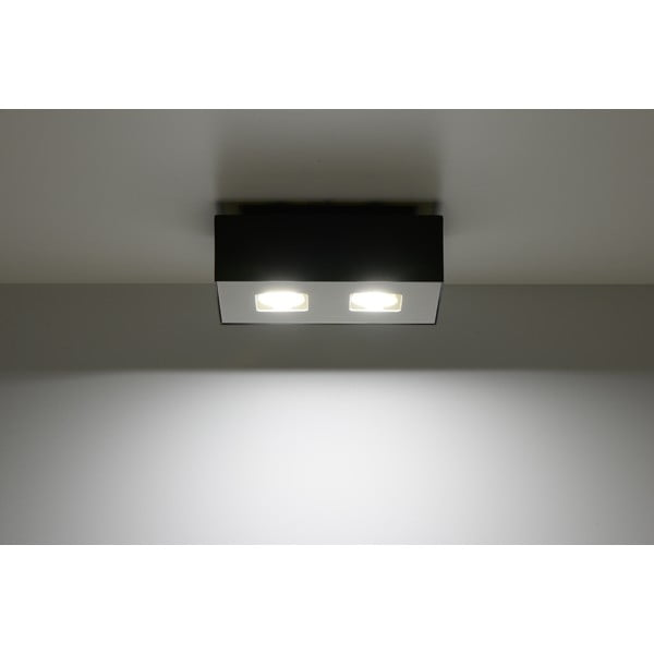 Czarna lampa sufitowa Nice Lamps Hydra 2