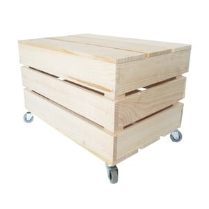 Pudełko na kółkach Chest, 50x27x32 cm