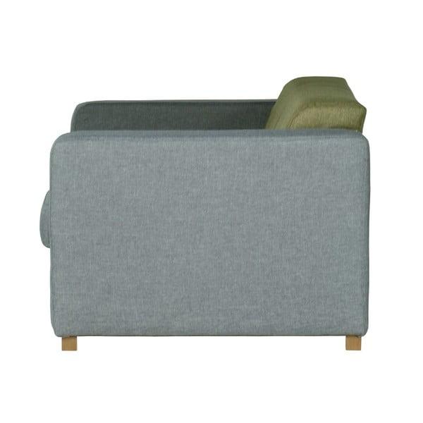 Sofa dwuosobowa Dax Sawana Grey Green