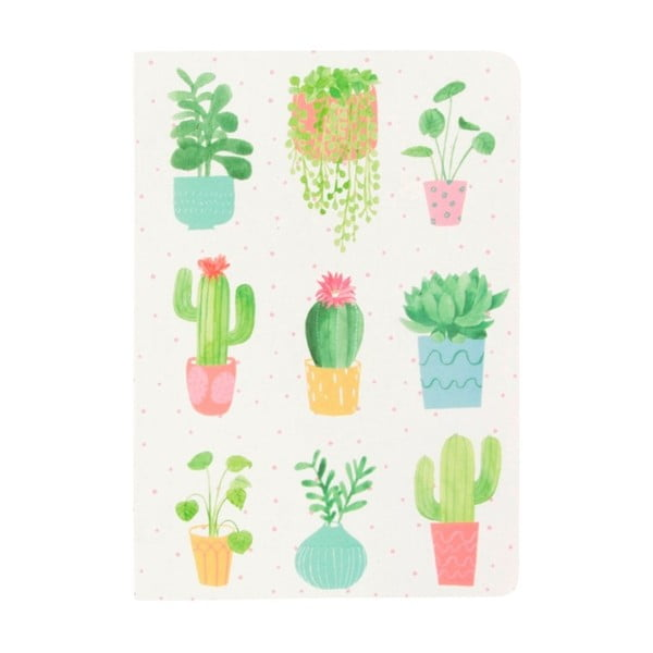Notes Sass & Belle Pastel Cactus, 40 stron