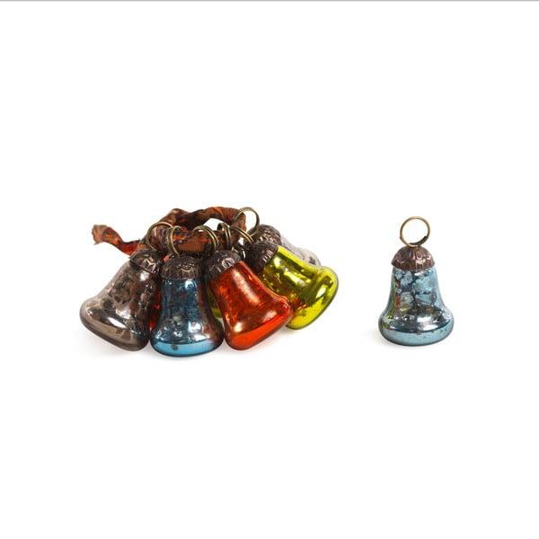 Komplet 8 dzwoneczków dekoracyjnych Bell