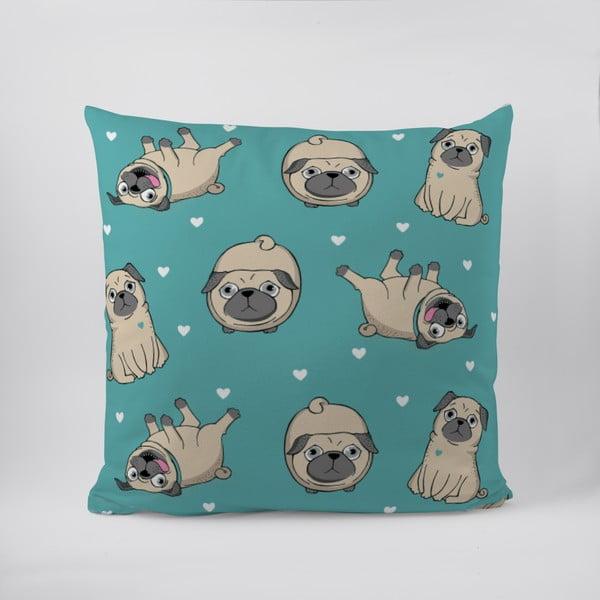 Poduszka Pug Life