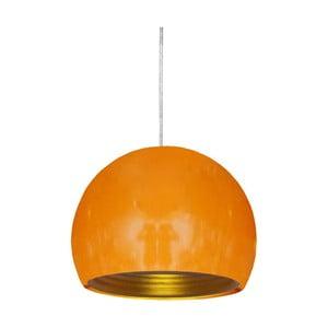 Lampa sufitowa Pictor, pomarańczowa
