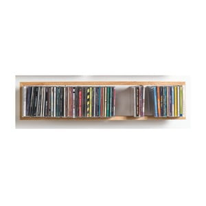 Półka na płyty CD b-cd2, 69x15 cm