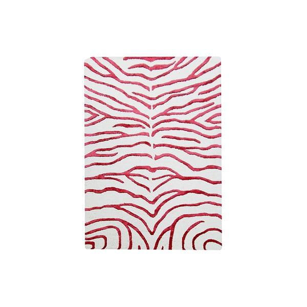 Dywan Zebra Red, 153x244 cm