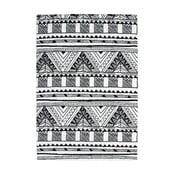 Dywan Aztec, czarny/biały, 120x 170 cm