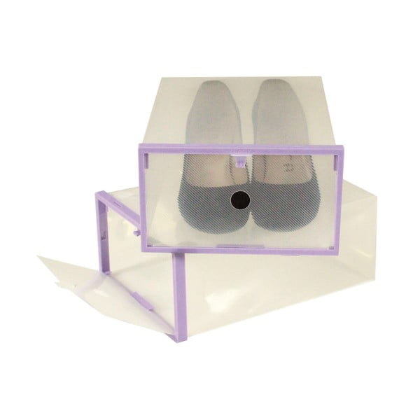 Zestaw 2 pojemników na buty JOCCA, 28x20,7 cm