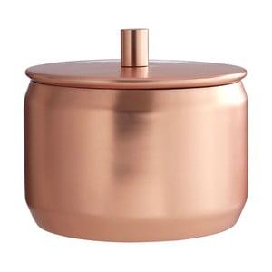 Pojemnik ze stali nierdzewnej w barwie miedzi Premier Housewares, Ø 12x11 cm