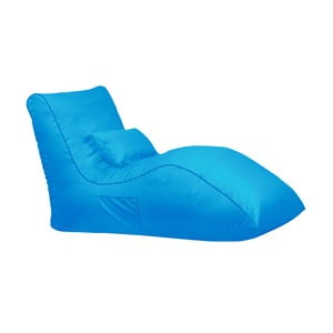 Turkusowy worek do siedzenia Sit and Chill Palawan Chaise Longue
