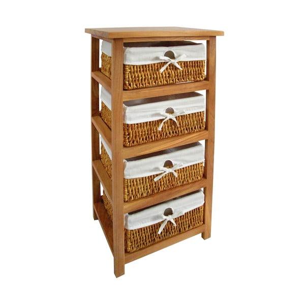 Półka z 4 koszykami Honey