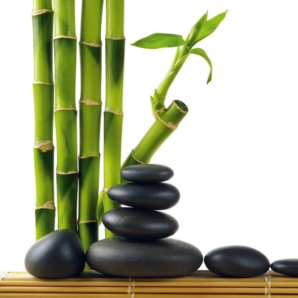 Szklany obraz Lucky Bamboo, 30x30 cm