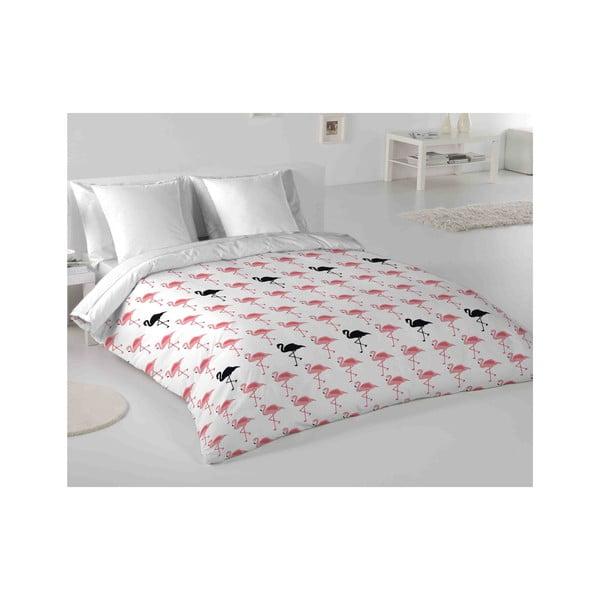 Pościel Hipster Flamingo, 240x220 cm