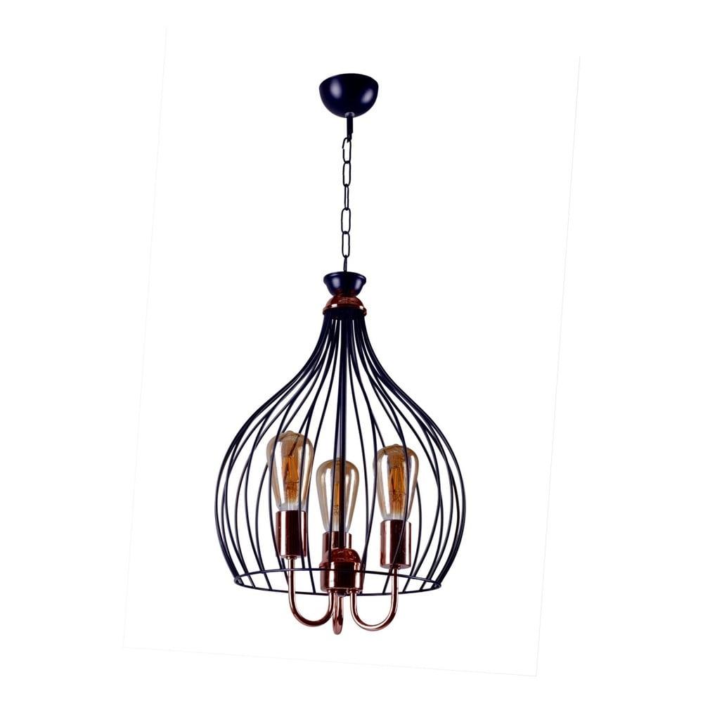 Lampa wisząca Birdcage Black
