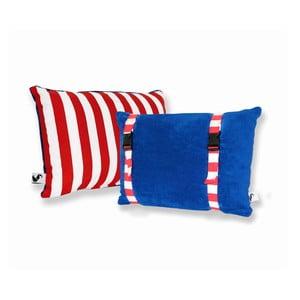 Wodoodporna dwustronna poduszkaDream Pillow Atlantic Red Stripes