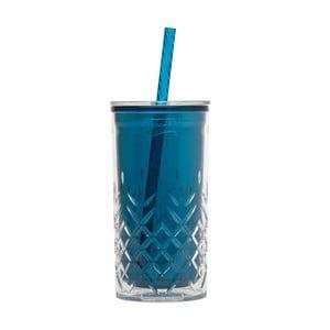 Kubek ze słomką Cup 470 ml, morski