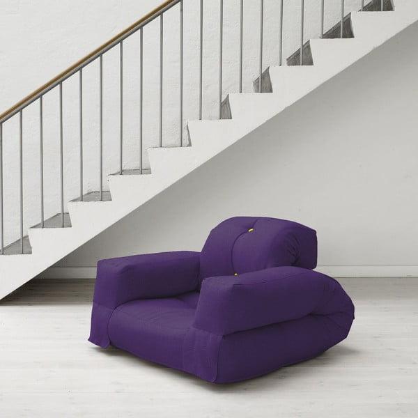 Fotel Hippo Purple/Pistachio