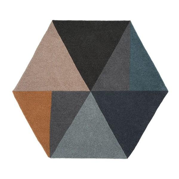 Wełniany dywan Sato Pastel, 150x130 cm