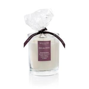 Świeczka zapachowa Bahoma White, zapach Duch Indii, 55 godzin