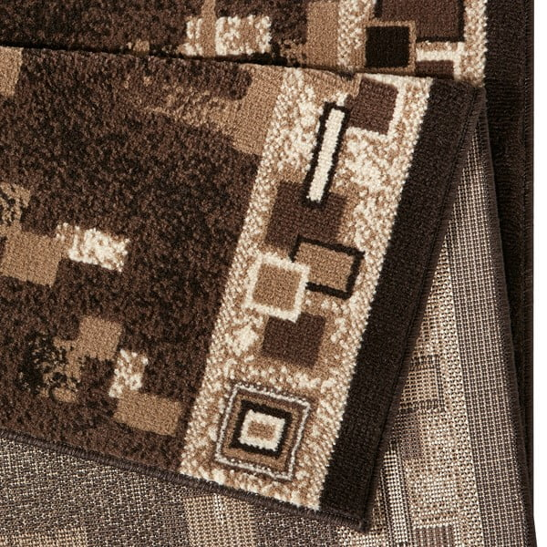 Dywan Basic Retro, 80x300 cm, brązowy