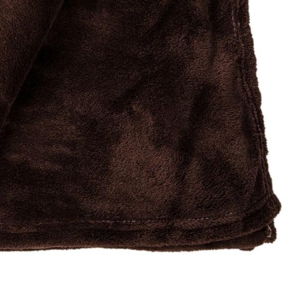 Narzuta na łóżko Sherpa Brown, 220x240 cm