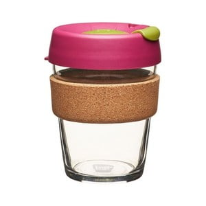 Kubek z pokrywką KeepCup Brew Cork Edition Cinnamon, 340 ml
