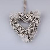 Drewniane wiszące  serce Dakls
