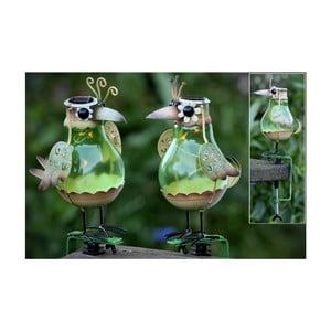 Zestaw 2 lampionów solarnych Birds