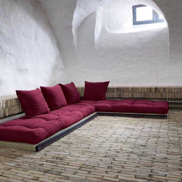 Sofa wielofunkcyjna Karup Chico Light Bordeaux